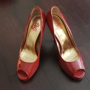 Dolce Gabbana Peep Toe Heels